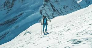 Benedikt Böhm: Ορειβατικό σκι στα όρια για καλό σκοπό