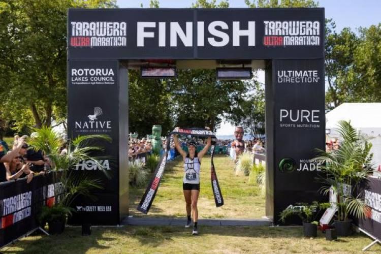 Ruth Croft makes history at Tarawera Ultramarathon!